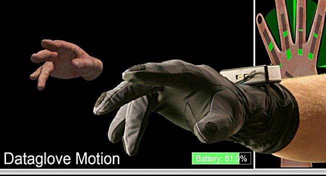 Data Glove Software Virtual Motion Labs